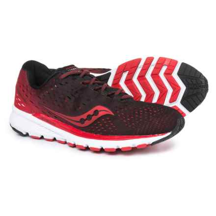 Saucony Breakthru 3 Running Shoes (For Men) in Black/Red - Closeouts