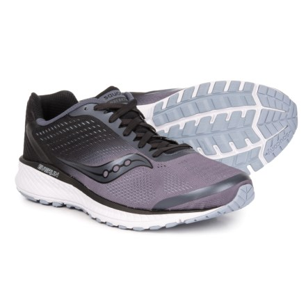 best service 9b315 febf9 Saucony Breakthru 4 Running Shoes (For Men) in Grey/Black - Closeouts