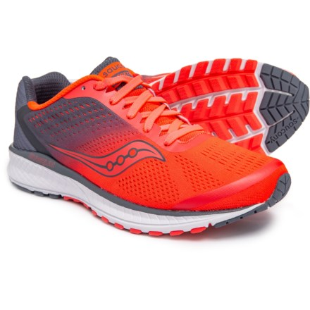 91135941979b Saucony Breakthru 4 Running Shoes (For Women) in Vizi Red Grey - Closeouts