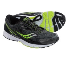 Saucony Breakthru Running Shoes (For Men) in Grey/Citron/Black - Closeouts