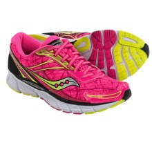 Saucony Breakthru Running Shoes (For Women) in Pink/Citron - Closeouts
