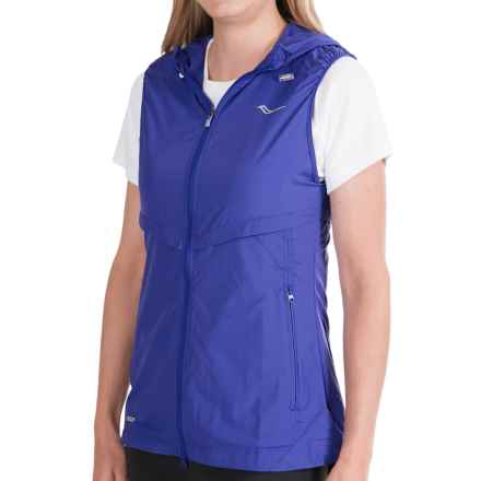 Saucony Breeze Running Vest (For Women) in Twilight - Closeouts
