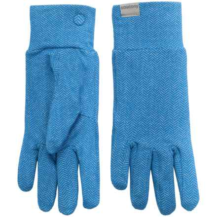 Saucony Brisk Gloves (For Women) in Sapphire - Closeouts