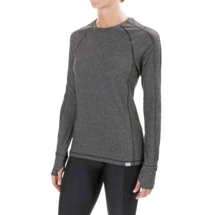 Saucony Brisk Shirt - Long Sleeve (For Women) in Carbon - Closeouts