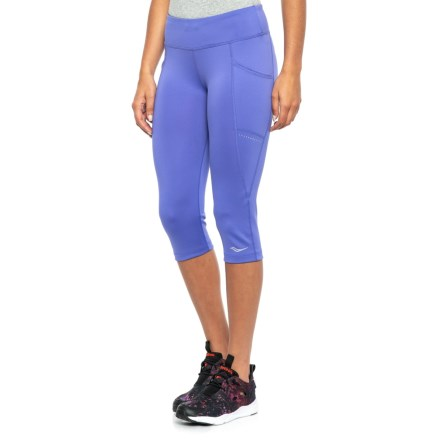 b13561bf3bed7 Saucony Bullet 2.0 Capris (For Women) in Violet Storm - Closeouts