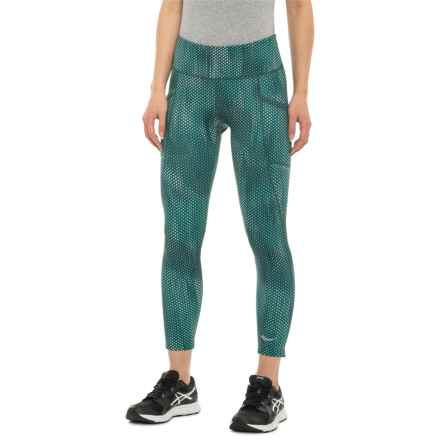 f1f9b78981e9ce Saucony Bullet Crop 2.0 Leggings (For Women) in June Bug Print - Closeouts