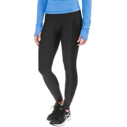 Saucony Bullet Leggings (For Women) in Black - Closeouts
