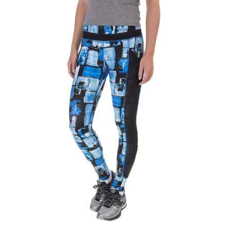 Saucony Bullet Leggings (For Women) in Sapphire - Closeouts