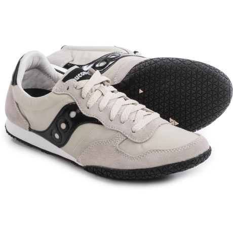 Saucony Bullet Shoes (For Men) in Light Tan/Black