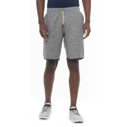 Saucony Cityside Shorts (For Men) in Dark Grey Heather - Closeouts