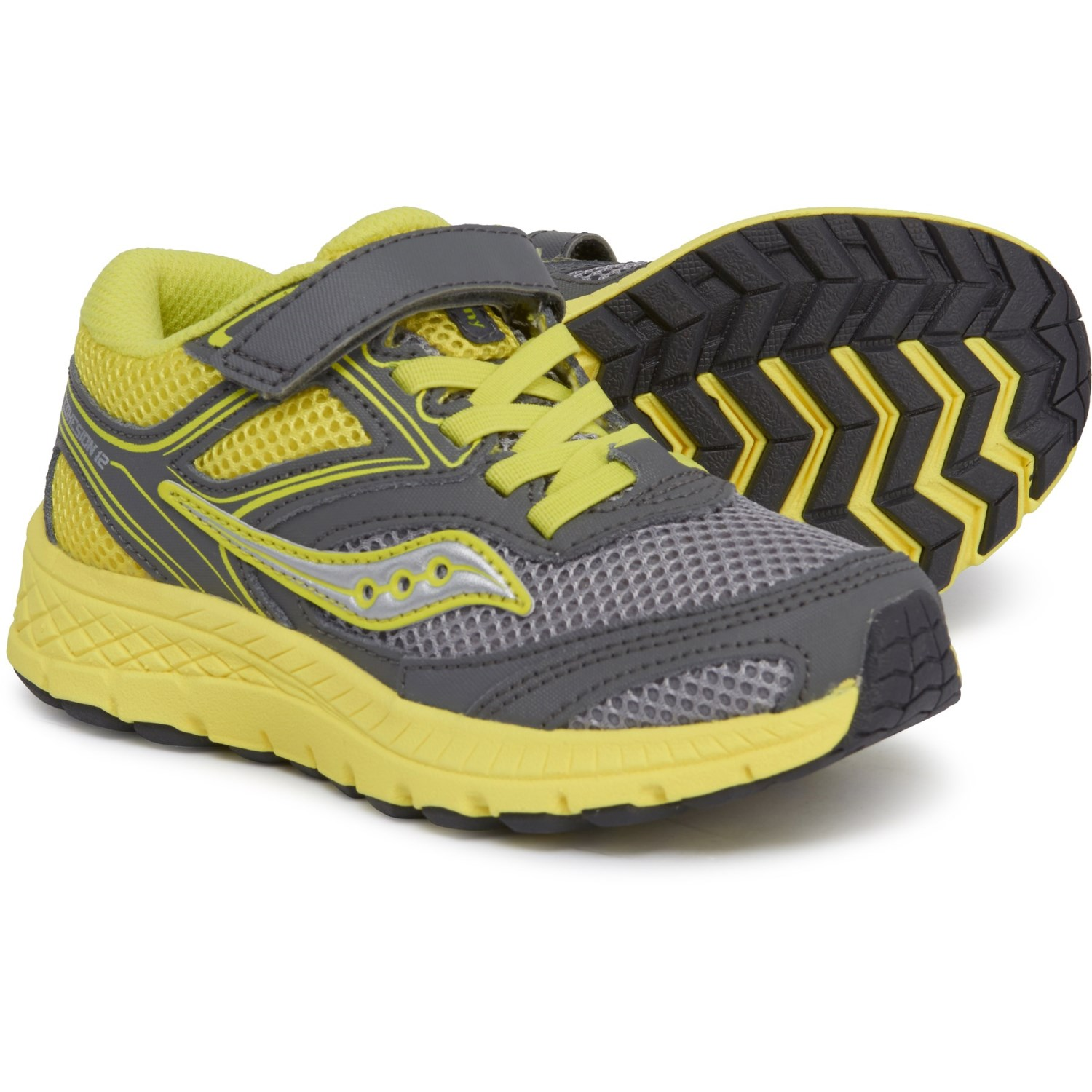 4e45dc53 Saucony Cohesion 12 A/C Running Shoes (For Boys) - Save 37%