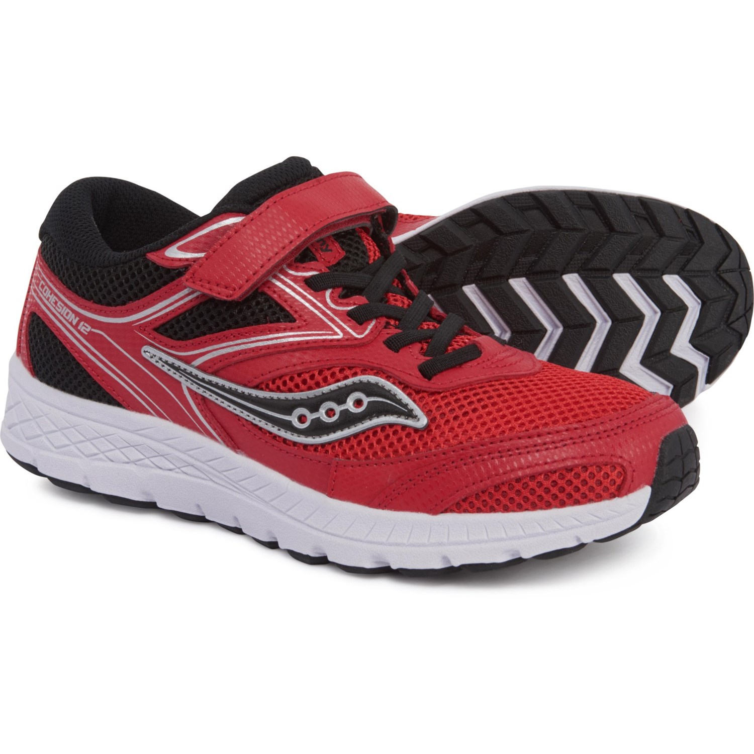1f44b74242 Saucony Cohesion 12 A/C Running Shoes (For Boys) - Save 37%