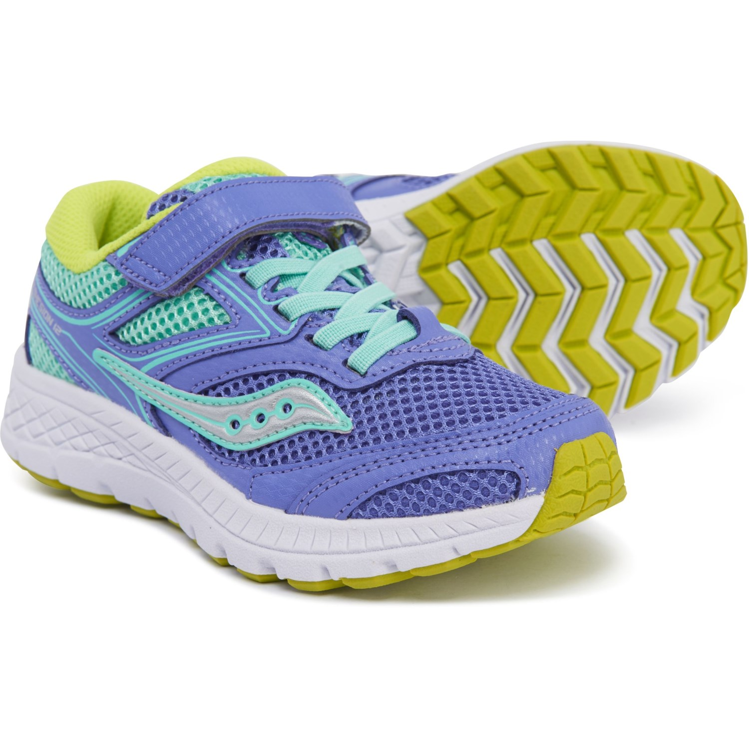 2aabee50 Saucony Cohesion 12 A/C Running Shoes (For Girls) - Save 37%