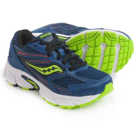 Saucony Cohesion 9 Athletic Shoes (For Little and Big Boys) in Blue - Closeouts