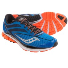 Saucony Cortana 3 Running Shoes (For Men) in Blue/Vizipro Orange - Closeouts