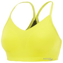 Saucony Dainty Dazzler Sports Bra - Low Impact (For Women) in Sipher - Closeouts