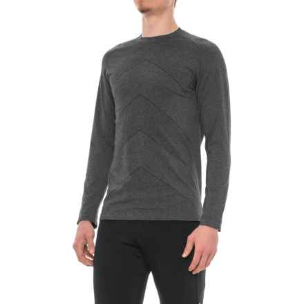 Saucony Dash Seamless Shirt - Long Sleeve (For Men) in Black - Closeouts