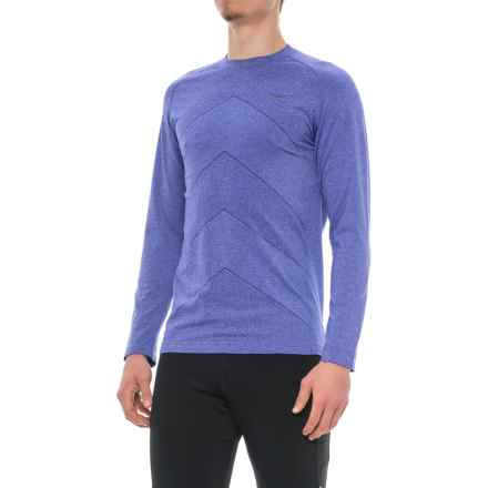 Saucony Dash Seamless Shirt - Long Sleeve (For Men) in Lakeside - Closeouts