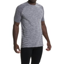Saucony Dash T-Shirt - Short Sleeve (For Men) in Carbon - Closeouts