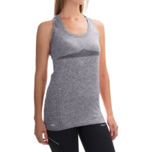 Saucony Dash Tank Top - Seamless (For Women) in Carbon - Closeouts