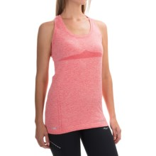 Saucony Dash Tank Top - Seamless (For Women) in Cherry Burst - Closeouts