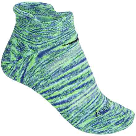 Saucony Daybreak No-Show Socks - Below the Ankle (For Women) in Blue - Closeouts