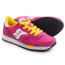 Saucony DXN Trainer Sneakers (For Women) in Pink/White - Closeouts