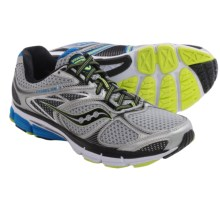 Saucony Echelon 4 Running Shoes (For Men) in Silver/Blue/Citron - Closeouts