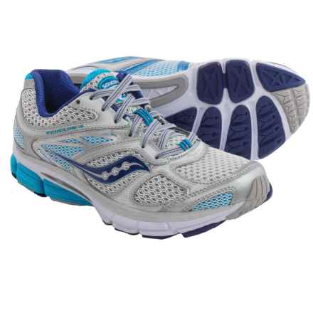 Saucony Echelon 4 Running Shoes (For Women) in Silver/Blue - Closeouts