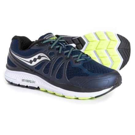 Saucony Echelon 6 Running Shoes (For Men) in Navy/Citron - Closeouts