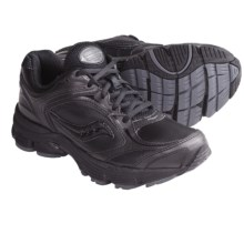 Saucony Echelon LE Walking Shoes (For Men) in Black/Gray - Closeouts