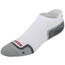 Saucony Elite Low-Cut Running Socks - Lightweight, Below-the-Ankle (For Men and Women) in White - Closeouts