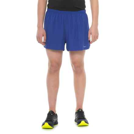 Saucony Endorphin Split Shorts - Built-In Briefs (For Men) in Lakeside - Closeouts