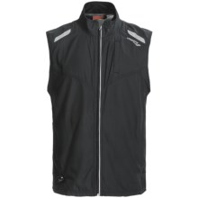 Saucony Epic Run Vest (For Men) in Black/Black - Closeouts