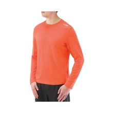 Saucony Evolution LX Shirt - UPF 50+ Long Sleeve (For Men) in Dash - Closeouts