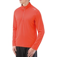 Saucony Evolution Pullover - Zip Neck, Long Sleeve (For Men) in Dash - Closeouts