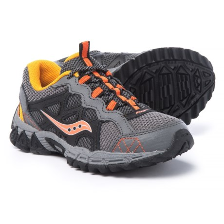 Saucony Excursion Running Shoes (For Boys) in Grey