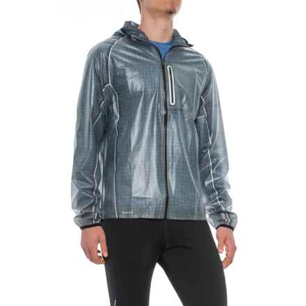 Saucony Exo Jacket - Waterproof (For Men) in Flint Stone - Closeouts