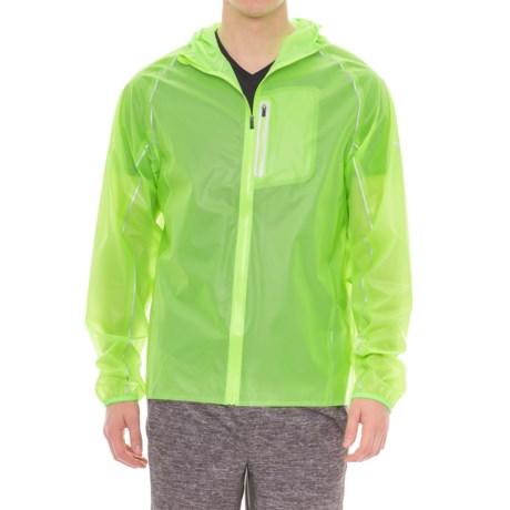 Saucony Exo Jacket - Waterproof (For Men) in Vizipro Slime