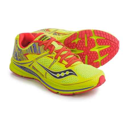 Saucony Fastwitch Running Shoes (For Women) in Citron/Purple - Closeouts