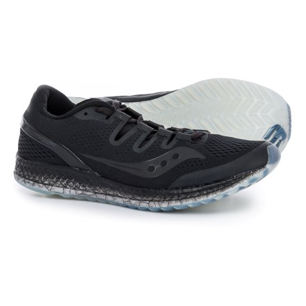 Saucony Freedom ISO Running Shoes (For Men) in Black - Closeouts e962f4c66