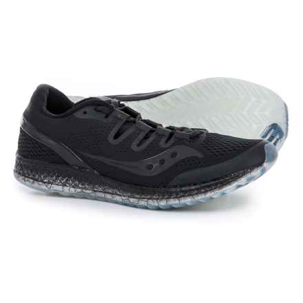 Saucony Freedom ISO Running Shoes (For Men) in Black - Closeouts