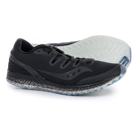 Saucony Freedom ISO Running Shoes (For Men) in Black