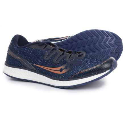 Saucony Freedom ISO Running Shoes (For Men) in Navy/Denim/Copper - Closeouts