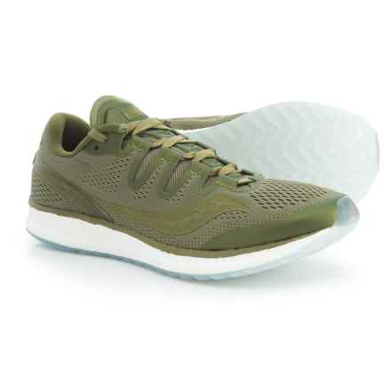 Saucony Freedom ISO Running Shoes (For Men) in Olive - Closeouts
