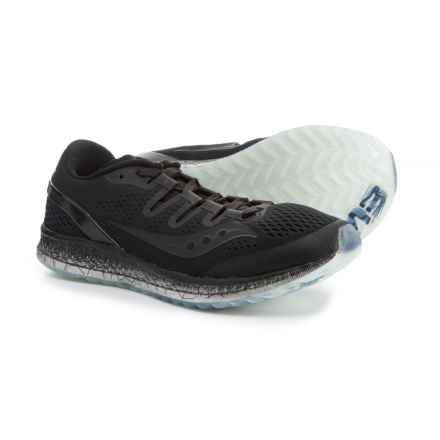 Saucony Freedom ISO Running Shoes (For Women) in Black - Closeouts
