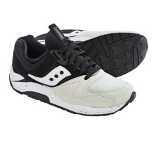 Saucony Grid 9000 Sneakers (For Men) in White/Black - Closeouts