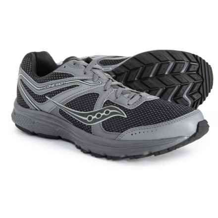 eafcf08f3a2f87 Saucony Grid Cohesion TR11 Trail Running Shoes (For Men) in Charcoal Black