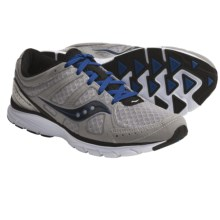 Saucony Grid Crossfire Running Shoes (For Men) in Grey/Blue - Closeouts