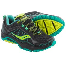 Saucony Grid Excursion TR9 Gore-Tex® XCR® Trail Running Shoes - Waterproof (For Women) in Black/Teal/Citron - Closeouts